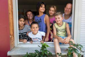 jeunes de la Maison d'enfants Saint-François d'Assise