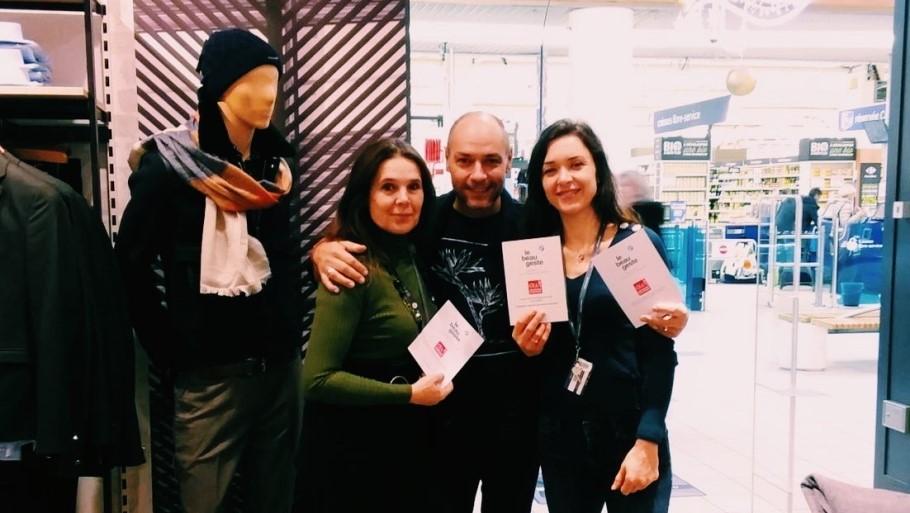 Les équipes Devred proposent l'arrondi solidaire en caisse au profit d'Apprentis d'Auteuil